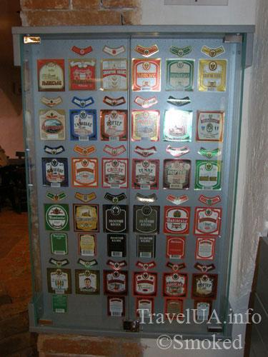 пивные этикетки, Львов, музей пива