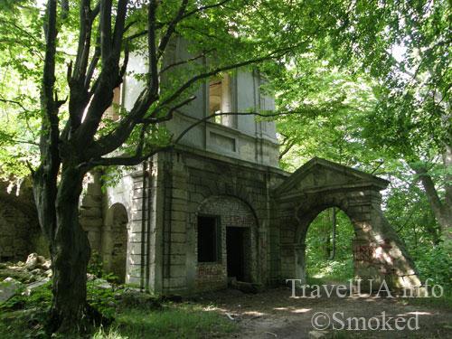 Подгорцы, дворец Конецпольских, флигель