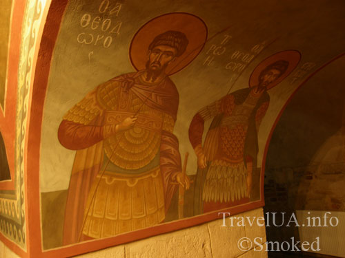 подземная церковь, Подкамень, монастырь, картина
