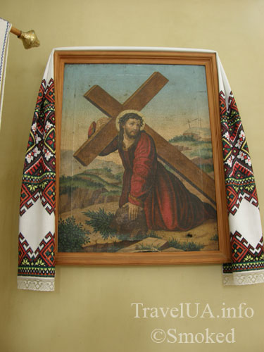 икона, Подкамень, монастырь