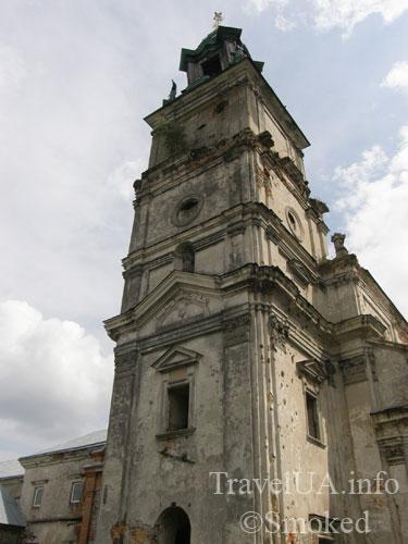 Подкамень, монастырь, колокольня