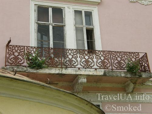 ковка, балкон, Буск, Бадени, дворец