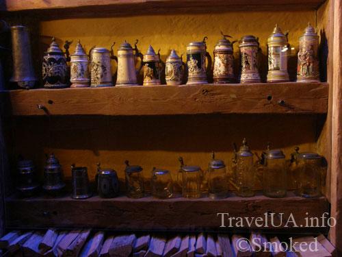 пивные кружки, Львов, музей пива