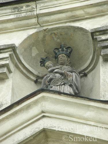 Подкамень, монастырь, скульптура