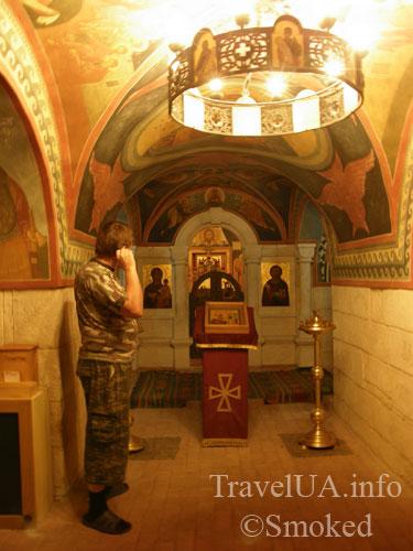 подземная церковь, Подкамень, монастырь, интерьер