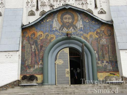 мозаика, Почаев, Лавра, монастырь
