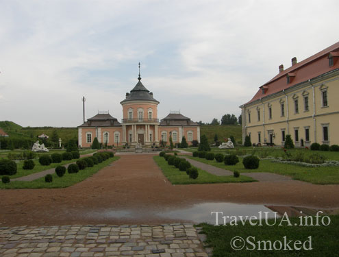 Золочев, замок, музей, Китайский дворец
