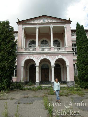 Буск, Бадени, дворец