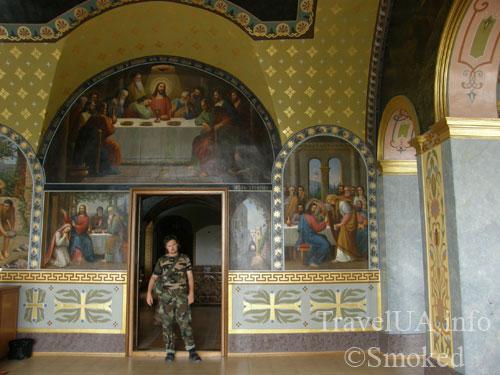 Почаев, Лавра, монастырь, интерьер, храм Иова
