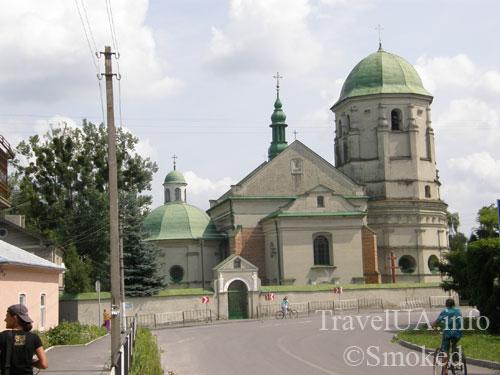 Олесько, Львовская область, костел