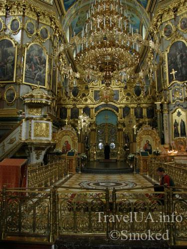 собор, Почаев, Лавра, монастырь, интерьер