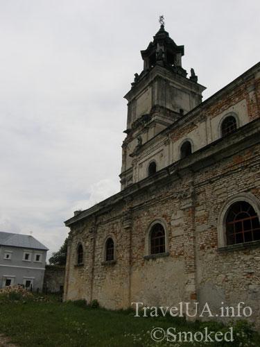 Подкамень, монастырь, костел