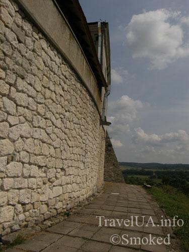 Олесько, Львовская область, замок, крепостная стена