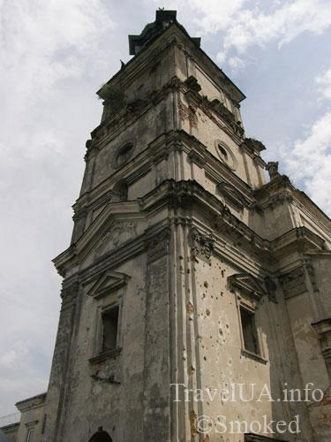 колокольня, Подкамень, монастырь, башня