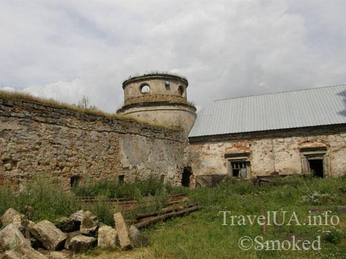 Подкамень, монастырь, башня