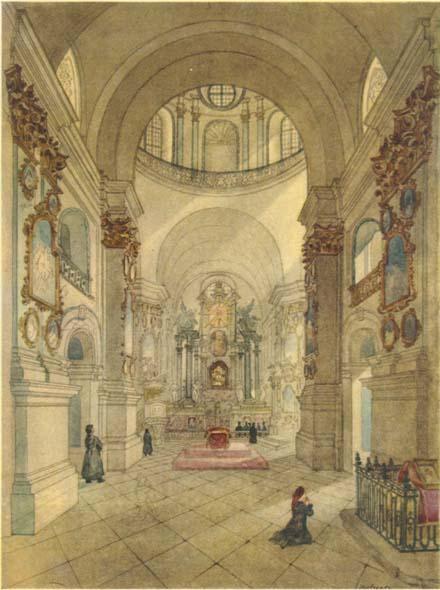 собор, Почаев, Лавра, монастырь, картина Шевченко