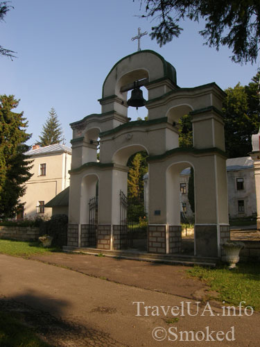 Плиснецк, Подгорцы, монастырь