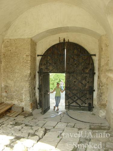 Олесько, Львовская область, замок, ворота