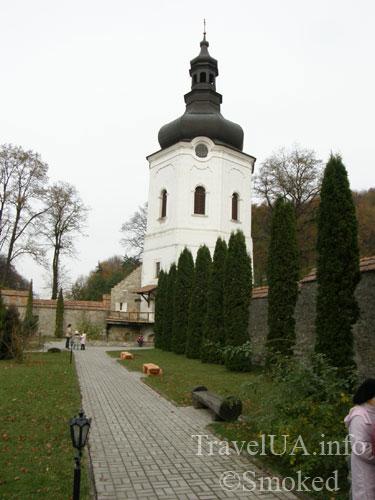 башня, Крехов, Крехив, монастырь, василиане, Львовская область