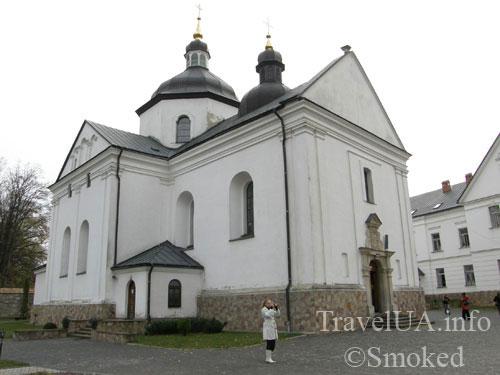 Крехов, Крехив, монастырь, василиане, Львовская область