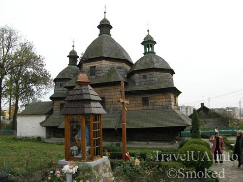 деревянная церковь, деревянный храм, Жовква