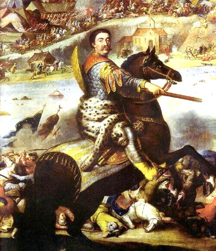 john_iii_sobieski_in_battle_of_khotyn_1673