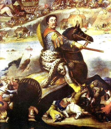 john_iii_sobieski_in_battle_of_khotyn_1673