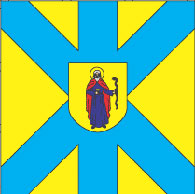 Жовква, флаг