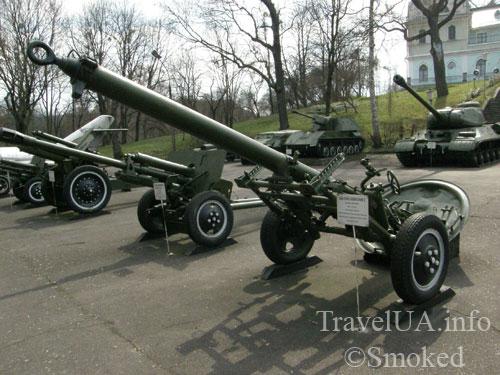 Корсунь-Шевченковский, Корсунь, артиллерия, музей