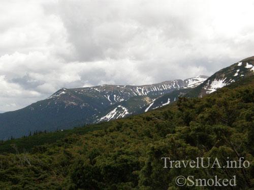 Говерла, Карпаты, горы