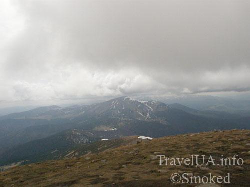 Говерла, Карпаты, горы, спуск с Говерлы