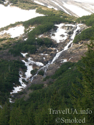 Карпаты, горы, пейзаж, Прут, водопад