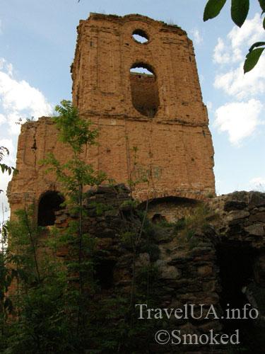 Корец, замок, руины, башня