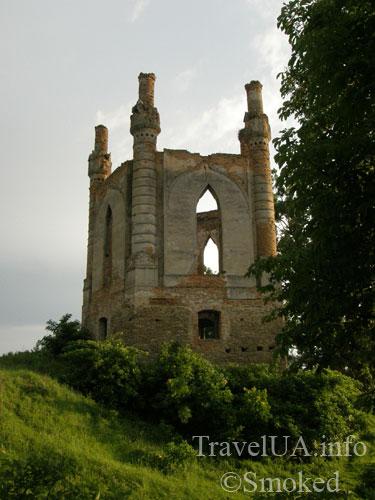 Новомалин, Новый Малин, часовня, замок