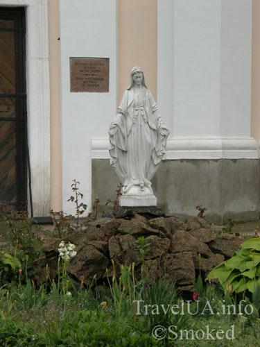 статуя, Изяслав, костел Иосифа