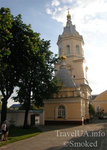 Корец, монастырь, церковь, колокольня