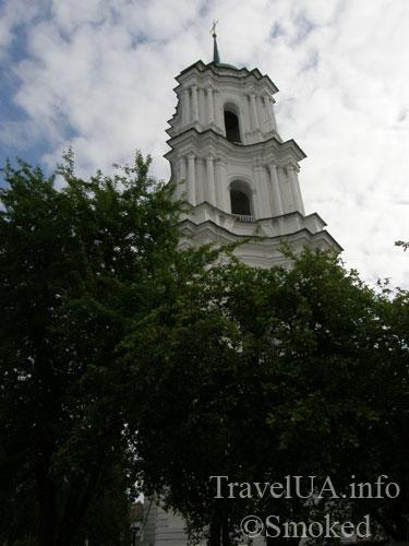 Козелец, собор, Разумовские, колокольня