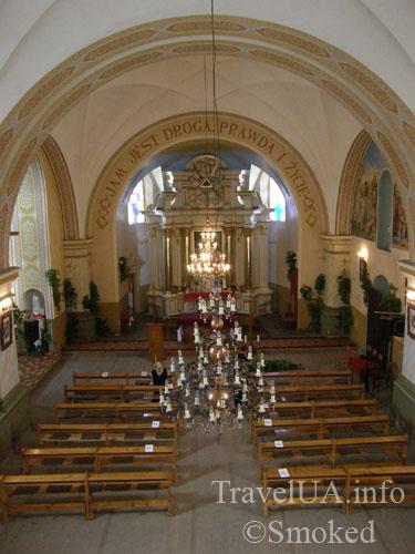 Корец, костел, святой Антоний