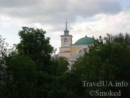 Корец, замок, руины, Николаевская церковь