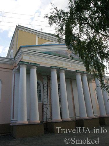 Корец, замок, Николаевская церковь
