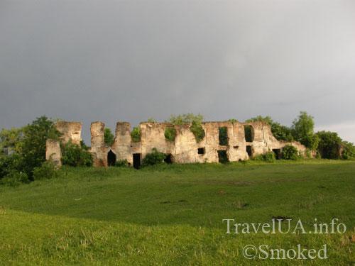 Новомалин, Новый Малин, дворец