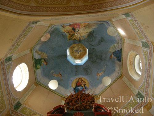 Корец, костел, святой Антоний, роспись