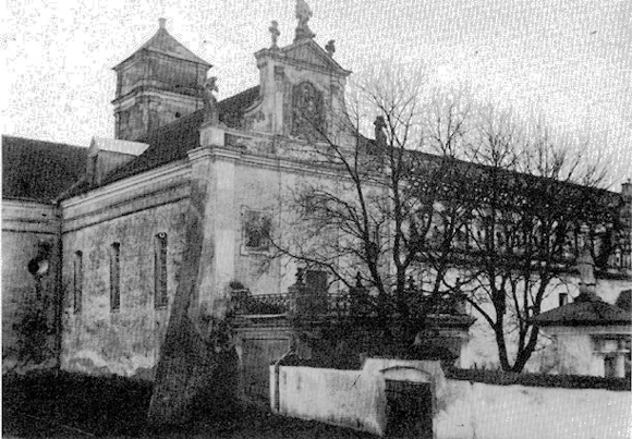Изяслав, тюрьма, монастырь, костел