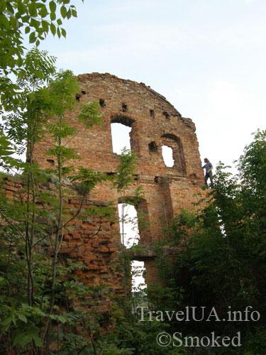 Корец, замок, руины