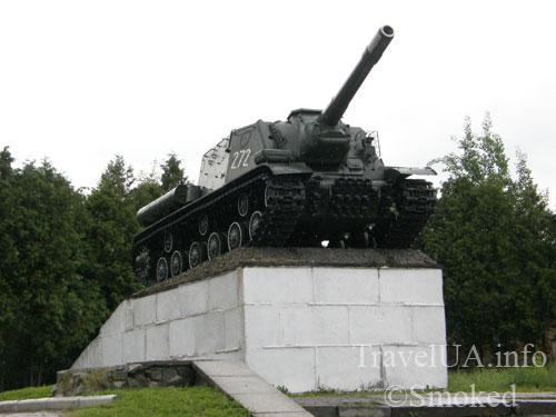 Изяслав, памятник