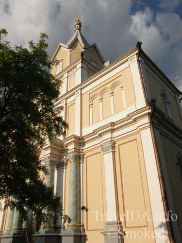 Корец, монастырь, церковь