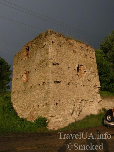 Новомалин, Новый Малин, замок, башня