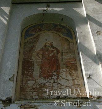 Невирков, костел, доминиканцы, фреска