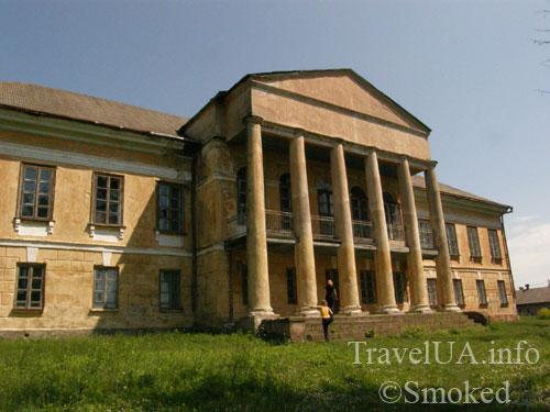 Большие Межиричи, дворец, Мерлени, Стецкий