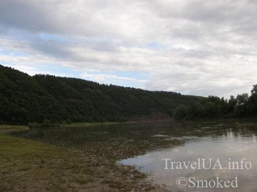 Днестр, Днестровский каньон, начало, пейзаж